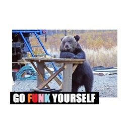 GO FUNK YOURSELF www.veryfunkyrecords.com
